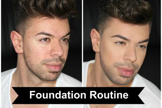 Foundation Routine unreine Haut